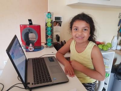 Pour Kelya l'ordinateur n'a plus de secret