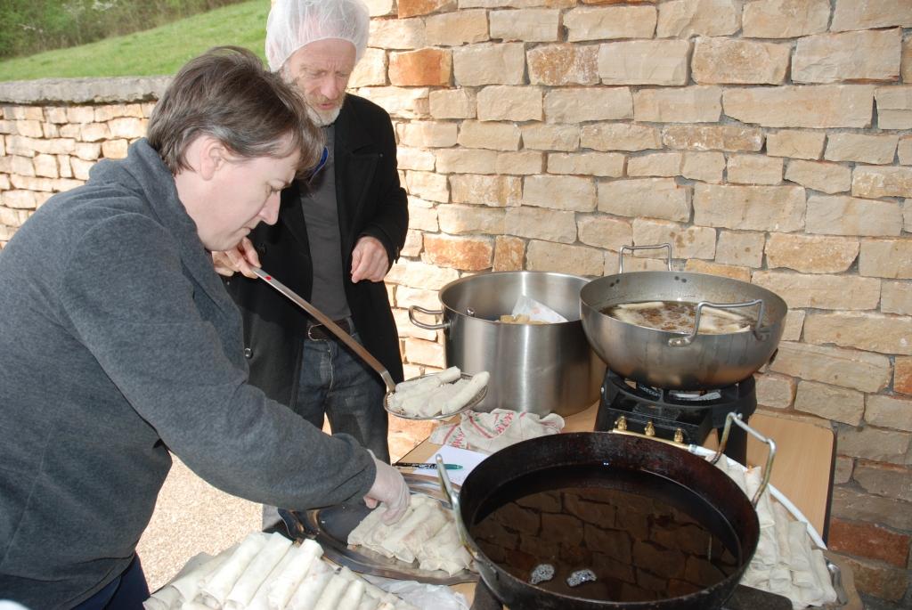 L'atelier cuisson. Cliché C. Cavero