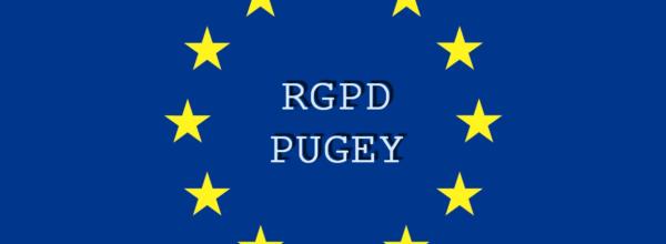 RGPD – Politique de confidentialité de la commune de Pugey
