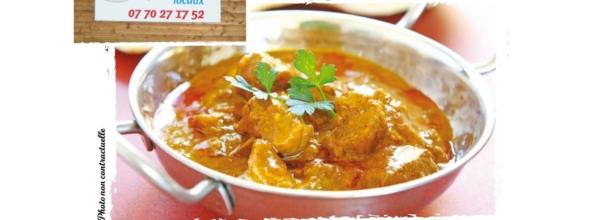 Veau Curry Coco chez Eric le 5 juin